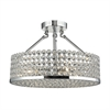 ELK lighting Hammond 4 Light Semi Flush In Polished Chrome