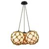 ELK lighting Coastal Inlet 3 Light Chandelier In Oil Rubbed Bronze