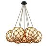 Coastal Inlet 7 Light Chandelier In Oil Rubbed Bronze