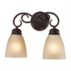 Cornerstone Chatham 2 Light Bath Bar In Oil Rubbed Bronze