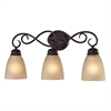 Cornerstone Chatham 3 Light Bath Bar In Oil Rubbed Bronze
