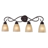 Chatham 4 Light Bath Bar In Oil Rubbed Bronze