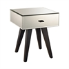 Modern Mirror Leg Side Table