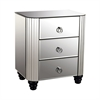 Deco Mirror 3-Drawer Chest