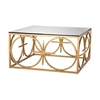Dimond Home Amal Coffee Table Antique Gold Leaf
