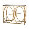 Dimond Home Amal Console Table Antique Gold Leaf