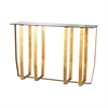 Dimond Home Ankara Console Table Antique Gold Leaf