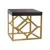 Dimond Home Beacon Towers Accent Table Gold,Black