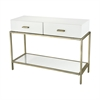 Evans White Console