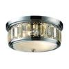 ELK lighting Flushmounts 2 Light Flushmount In Polished Chrome