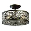 ELK lighting Amherst 4 Light Semi Flush In Antique Bronze