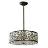ELK lighting Amherst 6 Light Pendant In Antique Bronze