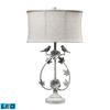 "31"" Saint Louis Heights LED Table Lamp in Antique White"