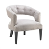 Gracie Parke Chair In Black And Silver