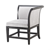Ostrava Chair In Black And Silver