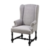 Sterling Eugenia Armchair Black,Grey