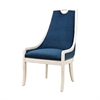 Sterling Constanzie Chair Capuccinno Foam,Navy