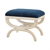 Sterling Constanzie Bench Capuccinno Foam,Navy
