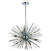 Starburst 12 Light Pendant In Chrome