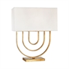 Munich 1 Light Table Lamp In Gold Leaf