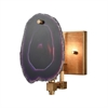 Purple Gallery Sconce
