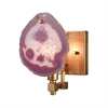 Red Gallery Sconce