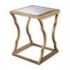 Lazy Susan Metal Cloud Side Table