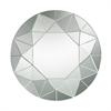 Circular Geometric Mosaic Mirror