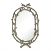 Brampton-Silver Leaf Wrapped Branch Mirror