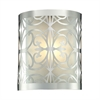 ELK lighting Willow Bend 1 Light Vanity In Polished Chrome