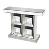 Liberty-Mirrored Console Table By