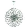 Starburst 19 Light Chandelier In Polished Chrome And Crystal