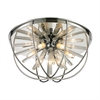 ELK lighting Twilight 6 Light Flushmount In Polished Chrome