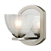 Sculptive 1 Light Vanity In Polished Chrome