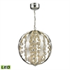 ELK lighting Light Spheres LED Pendant In Polished Chrome