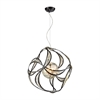 ELK lighting Oriona 3 Light Chandelier In Oil Rubbed Bronze