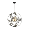 Oriona 3 Light Chandelier In Oil Rubbed Bronze