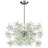 Snowburst 15 Light Chandelier In Polished Chrome