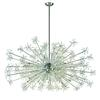 ELK lighting Snowburst 30 Light Chandelier In Polished Chrome