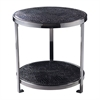 Sterling Black Croc Coffee Table