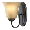 Cornerstone Conway 1 Light Bath Bar In Oil Rubbed Bronze