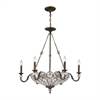 Christina 9 Light Chandelier In Mocha