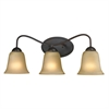 Cornerstone Conway 3 Light Bath Bar In Oil Rubbed Bronze