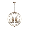 Stanton 8 Light Chandelier In Matte Gold