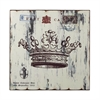 Sterling White Crown Print Wall Décor