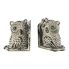 Sterling Owl Book Ends