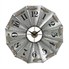 Sterling Aluminum And Rope Wall Clock