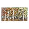 Autumn Birch-Autumn Birch Metal Wall Décor