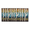 Queen Lake-White Birch At Dawn Metal Wall Décor