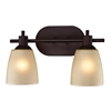 Jackson 2 Light Bath Bar In Oil Rubbed Bronze